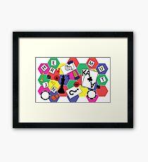Board Games Framed Print