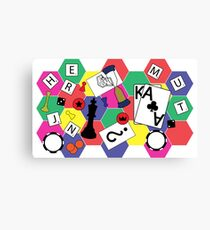 Board Games Canvas Print