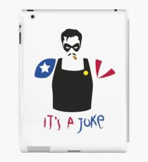 A Joke iPad Case/Skin