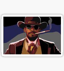 Django Illustration Sticker
