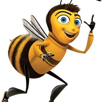 The Bee Movie Barry B Benson Shook Script PNG Sticker  by slapstyk
