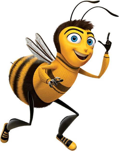 Quot The Bee Movie Barry B Benson Shook Script Png Sticker