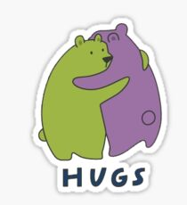 Hugs Sticker