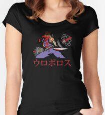 Strider Lock Down Women's Fitted Scoop T-Shirt