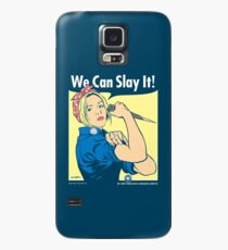 Buffy the Riveter Case/Skin for Samsung Galaxy