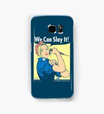 Buffy the Riveter Samsung Galaxy Case/Skin