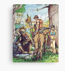 Cults of Prax - Steve Swenston cover image Canvas Print