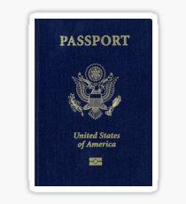 US United States Passport Sticker