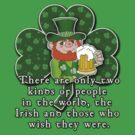 Irish Wisdom Irish Pride ST PATRICKS DAY by Greenbaby