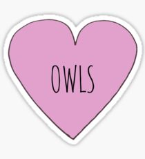OWL LOVE Sticker