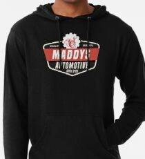 Maddys Automotive - Black Back Lightweight Hoodie