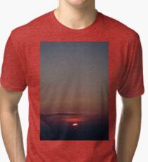 Intense Sunset  Tri-blend T-Shirt