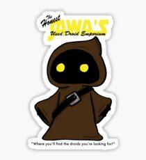 Honest Jawa's Used Droids Emporium Sticker
