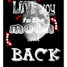 love you to the moon by yvonne willemsen