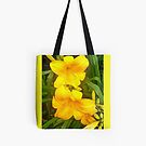 Yellow Lily Tote by Shulie1