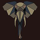 Geometric Elephant by BangBangDesign