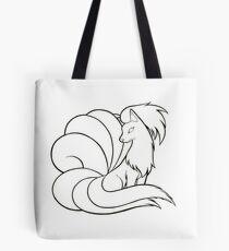 Ninetales Line Art Tote Bag