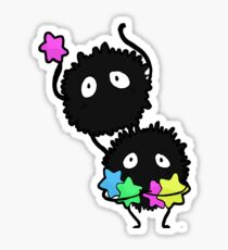 soot sprites! Sticker