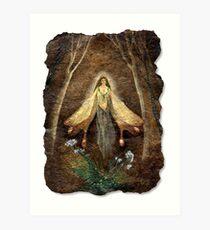 Fey Queen (Fairy Queen) Art Print