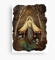 Fey Queen (Fairy Queen) Canvas Print