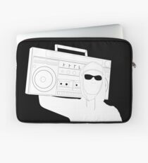 Boombox and Shades Laptop Sleeve