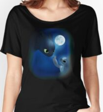 How to Train Stitch's Dragon Women's Relaxed Fit T-Shirt