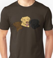 The Three Labradors Unisex T-Shirt