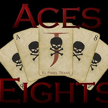 El Paso Aces & Eights Cards by IceTigerKitten