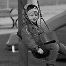 Liam Chillin' by Karen  Helgesen