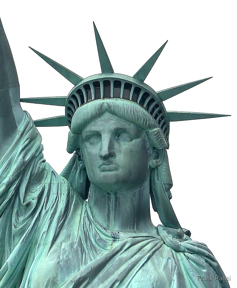 The Statute of Liberty, New York Harbor by Frank Parisi