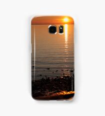 Sunset Over Water Samsung Galaxy Case/Skin