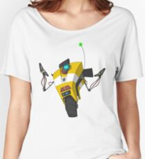 Claptrap Sticker Women's Relaxed Fit T-Shirt
