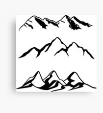 Mountain Series  Canvas Print