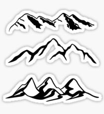 Mountain Series  Sticker
