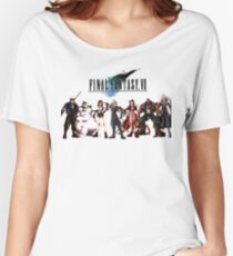 Final Fantasy VII characters Women's Relaxed Fit T-Shirt