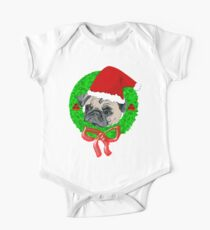 Christmas Pug Kids Clothes