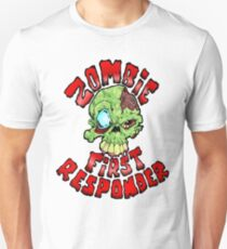Zombie First Responder Volunteer T-Shirt