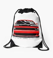 Give'em Hell Dodge Challenger Drawstring Bag