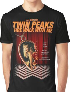 Twin Peaks: Fire Walk With Me Graphic T-Shirt