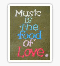 Music And Love Sticker
