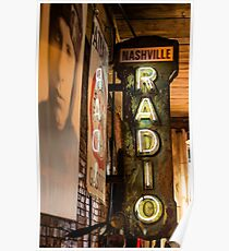 Radio Nashville Poster