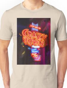 Crazy Town - Impressionistic Unisex T-Shirt