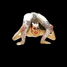 Hovering Contortionist by Geoffrey Higges