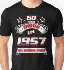 made in 1957 Unisex T-Shirt
