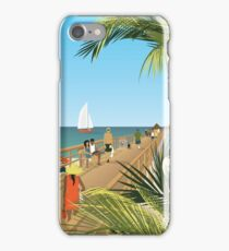 Naples Fishing Pier iPhone Case/Skin