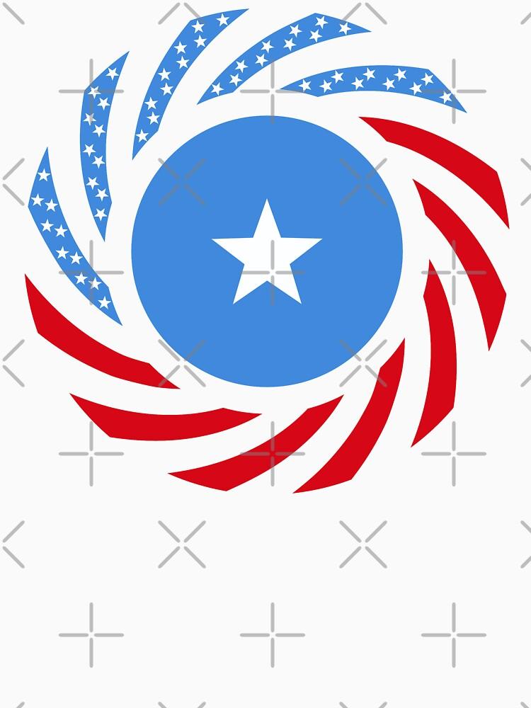 Somali American Multinational Patriot Flag Series by carbonfibreme