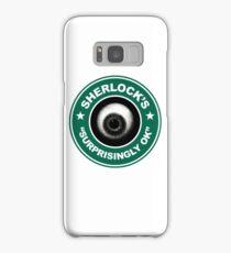 Sherlock's Coffee - Surprisingly OK! Samsung Galaxy Case/Skin