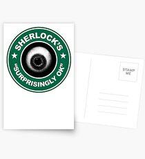 Sherlock's Coffee - Surprisingly OK! Postcards
