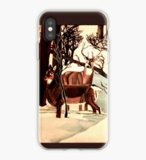 """DEER """"WHO IS THERE?"""" iPhone Case"""