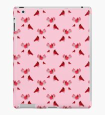 Cardinals on Red iPad Case/Skin